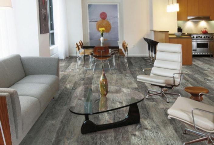 Optimum vinyl plank flooring