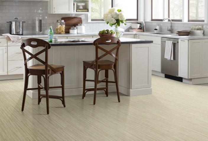 Resilient Compact 12 vinyl flooring